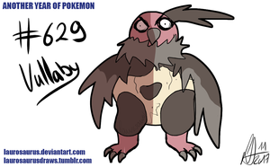 Another year of pokemon: #629 Vullaby