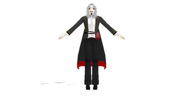 MMD Perfectly Generic Dracula DL by rose-bleue