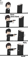 -Death Note owns James Bond- by aemi-chan