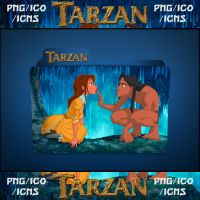 Tarzan (1999) Folder Icon pack by ChrisNeville32