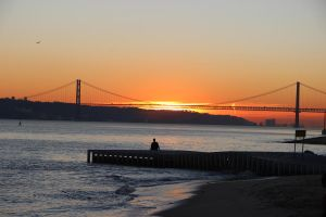 Sunset in Lisbon by Sofia-Sousa