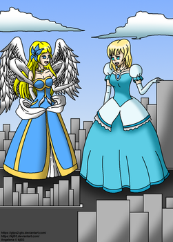Collab - Angelena and Alana by GTPS2-GTS
