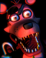 [FNAF:Pizzeria Simulator] The Rockstar Foxy Icon by MangoISeI