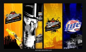 Miller Banners by EAMejia