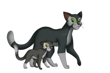 Felidae//Francis And Francis Junior by Sky-thepony65