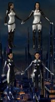 Eva Core and Miranda Lawson from ME3 for XPS by Melllin