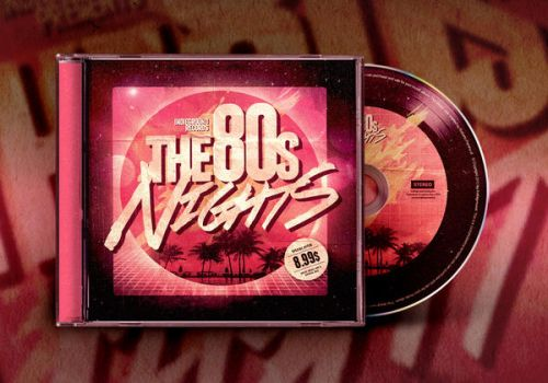 80s CD Album Artwork Template Vol. 2 by IndieGround