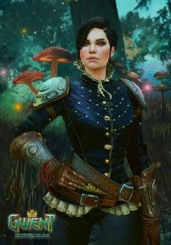 Syanna Gwent Card by Silvaticus