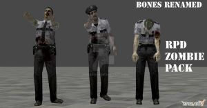 RPD Zombie Pack (Bone Fix+Download) by Jokerben21
