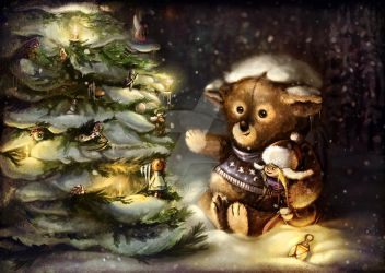 Christmas Card. by Anuk