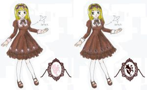 Classical Autumn Lolita dress by Nisai