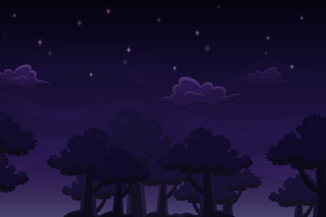 Night Forest by FrahDesign