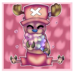 Tony Tony Chopper by TheMashedCat