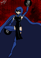 Teen Titans - Raven - Color by UltimeciaFFB