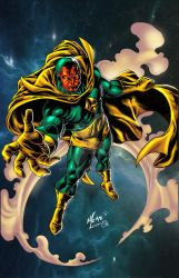 Vision Vhon Omi colors small by spidey0318