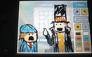 Layton Puzzle Doodle by Uber-Beanz