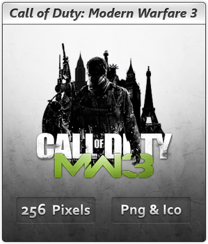 CoD Modern Warfare 3 - Icon by Crussong