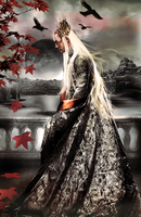 Loneliness Thranduil by I-vyD