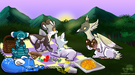 Evoloon - Chocolate Egg Event by JB-Pawstep