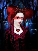Queen of heart by Selenys