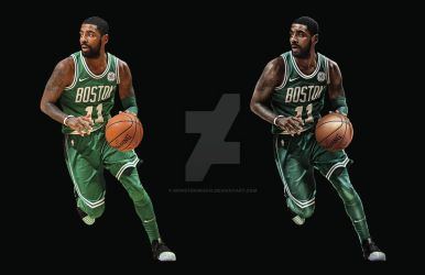 Kyrie Before After by MonsterGrafix