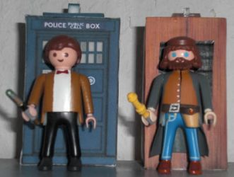 Two Timelords by SciFiRocker