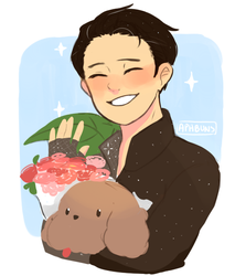 Happy Birthday, Yuuri by Moonylight12