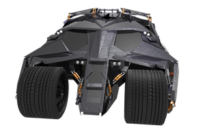 Batmobile -the Tumbler- Cam view 4 by JDVN7