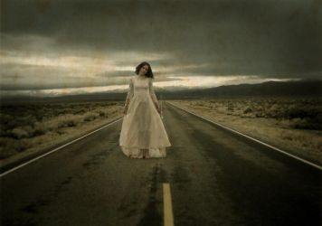 She haunts the roads... by OleWormius