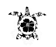 Hibiscus Turtle by Littleblue22