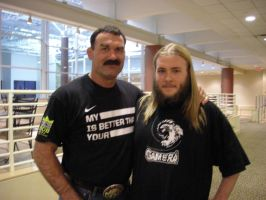 Don Frye and I by BigJohnnyCool
