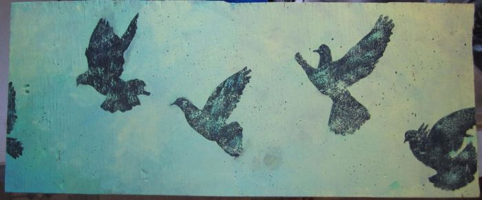 Flying Doves by GaBrIeLlA123
