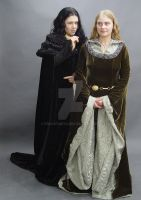 Eowyn and Grima 2 by FrockTarts