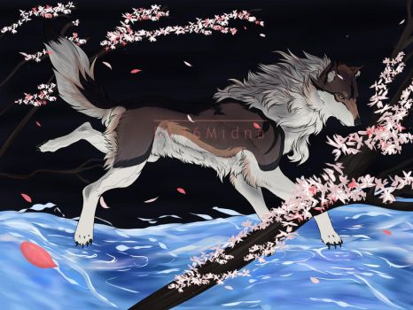 Water Dancer - Personal Art by DL16Midna