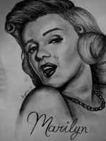 Marilyn Monroe by AlyssiaJayde