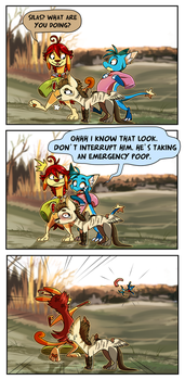 Wyngro Comic 4: Growing Pains by Nestly