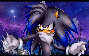 ::PC:: Crash the hedgehog by Star-Kaito