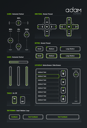 Adam - Sci-Fi Element Pack by PureAV
