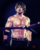 AJ Styles by claudiall
