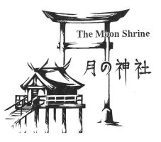 Moon Shrine--Silkscreen by darkness127