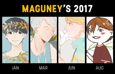 Art Summary 2017 by maguney
