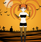 Miharu as Fright wig! by imyouknowwho