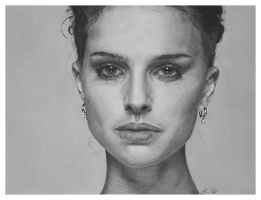 Natalie Portman Drawing by golfiscool