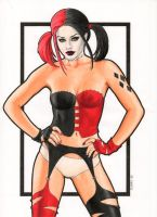 Harley Quinn (Gods and Monsters) by Promethean-Arts