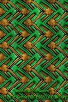 Woven Angelfish Tessellation by sethness