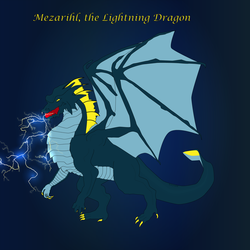 Mezarihl, Lightning Dragon by KarynRH