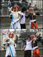 When Erza looks at us... by Ellyana-cosplay