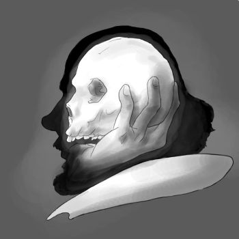 Shakespeare Silhouette by Wyrd-of-Anduril