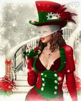 A Jolly Holiday by RavenMoonDesigns