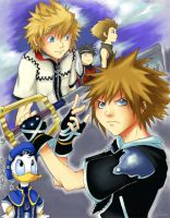 Kingdom Hearts II - Two Worlds by naruto-sexy-no-jutsu